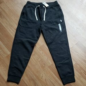 Polo Sweatpants Black Small